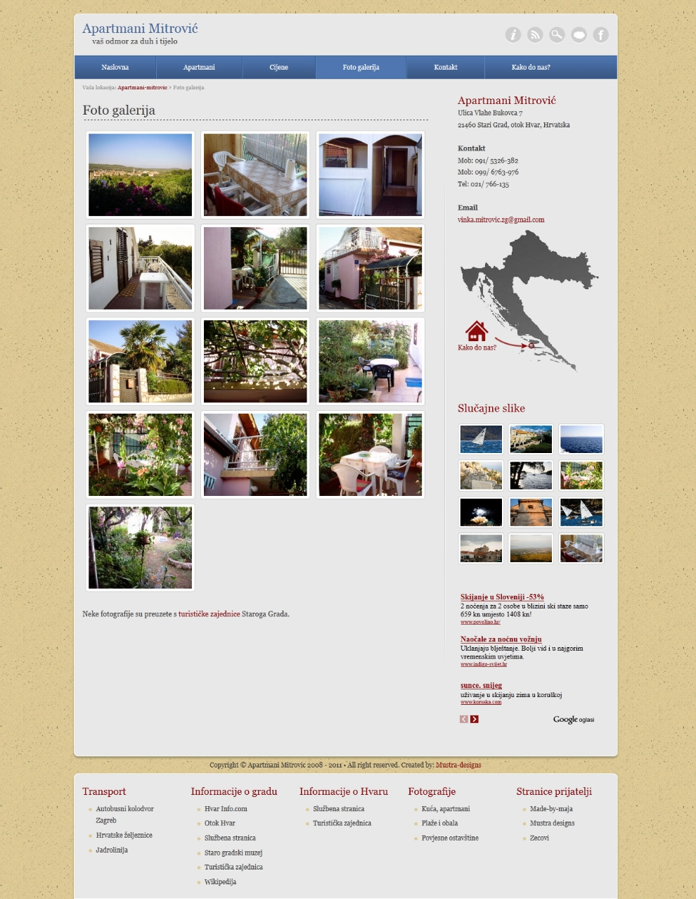 Gallery single page