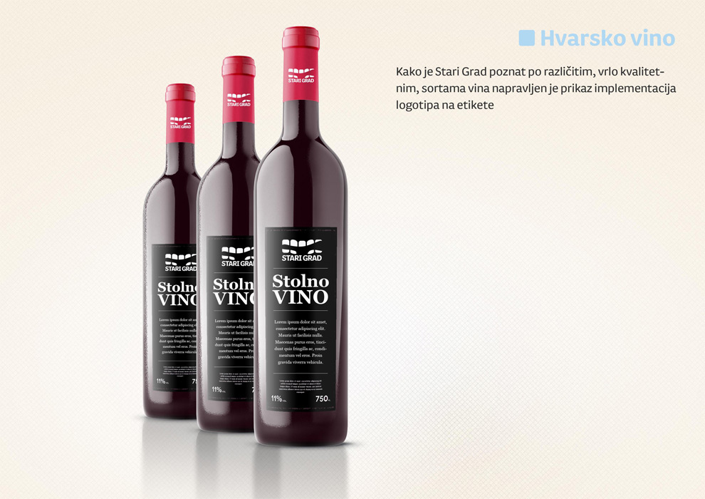 Vine bottle mockup